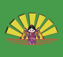 Chinese Fairy Doll in Sunshine T-shirt and leggings Kids Clothes
