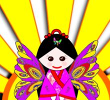 Chinese Fairy Doll in Sunshine T-shirt and leggings Sticker