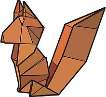 Origami Fox by StevePaulMyers