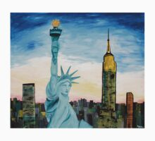 Statue Of Liberty With View Of New York Kids Clothes