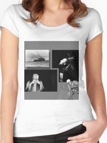 $uicideboy$ Suicideboys Eternal Grey Gray g59 Women's Fitted Scoop T-Shirt