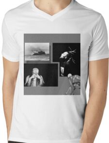 $uicideboy$ Suicideboys Eternal Grey Gray g59 Mens V-Neck T-Shirt