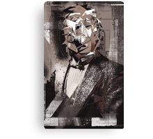 Mechanical Thinker : Dust in the Wind Canvas Print