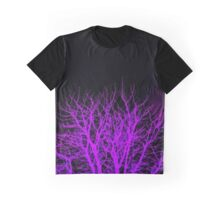 Purple tree trippy Graphic T-Shirt