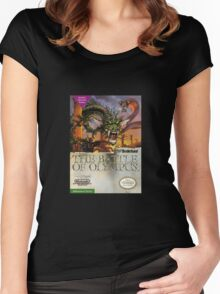 The Battle of Olympus Women's Fitted Scoop T-Shirt