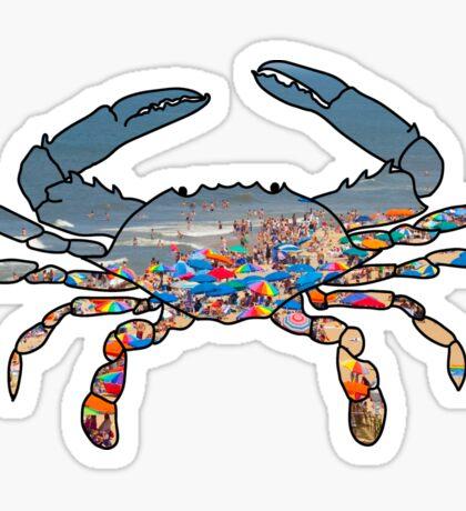 OC Crab Sticker