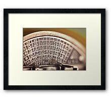 Universal Mercury II Camera - 5 Framed Print