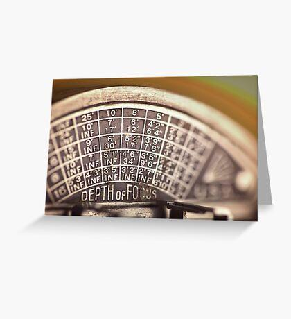 Universal Mercury II Camera - 5 Greeting Card