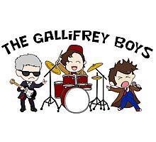 The Gallifrey Boys Photographic Print