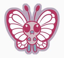 Pink Butterfree by DisfiguredStick