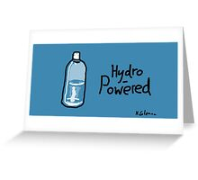 Hydro-Powered Greeting Card