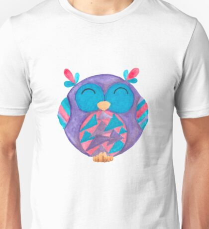Jazz the little singing owl Unisex T-Shirt