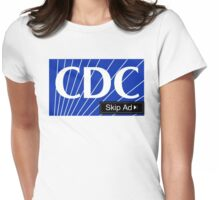 CDC - Skip Ad  Womens Fitted T-Shirt