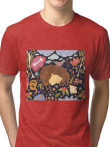 Forest Slumber Tri-blend T-Shirt