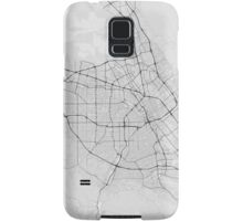 San Jose, USA Map. (Black on white) Samsung Galaxy Case/Skin