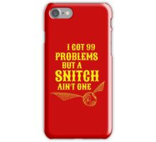 99 Problems iPhone Case/Skin
