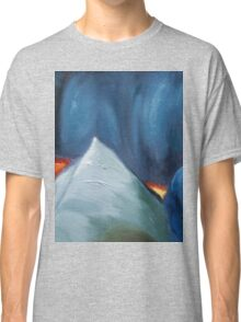 cool colors abstract painting Classic T-Shirt