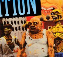 Zombie Nation Sticker