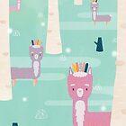 Llama Drama by brigittehuynh