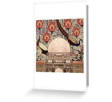 mughal monument Greeting Card