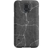 Atlanta, USA Map. (White on black) Samsung Galaxy Case/Skin