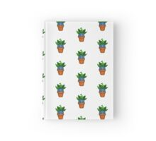 Potted Oddish Hardcover Journal