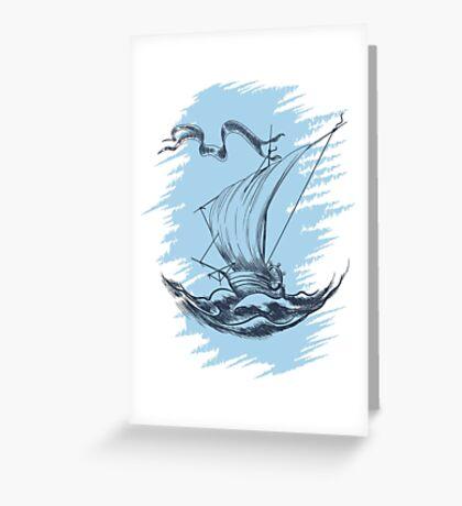 Sail Ship   Greeting Card