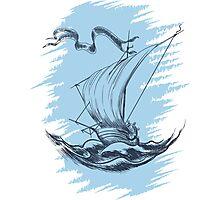 Sail Ship   Photographic Print