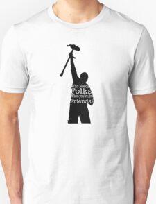 Newsies Crutchie Quote T-Shirt