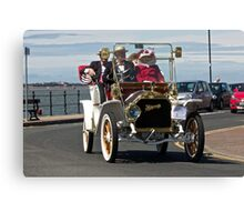 Vintage Car - in West Kirby - July 2014 Canvas Print