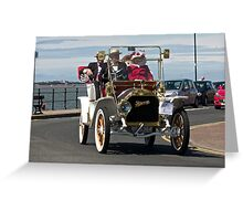 Vintage Car - in West Kirby - July 2014 Greeting Card