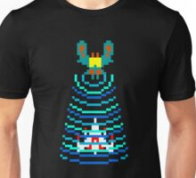 Galaga Captured Ship Unisex T-Shirt