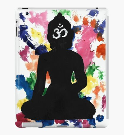 Enlightened Om Buddha Watercolor iPad Case/Skin