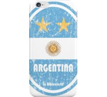 World Cup Football 5/8 - Argentina (Distressed) iPhone Case/Skin