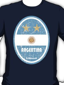 World Cup Football 5/8 - Argentina (Distressed) T-Shirt