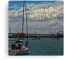 MELBOURNE- AUSTRALIA Canvas Print