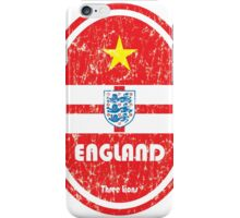 World Cup Football 6/8 - England (Distressed) iPhone Case/Skin