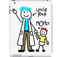 For uncle Rick with love! iPad Case/Skin
