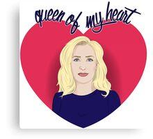 Queen of my Heart Canvas Print