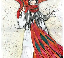 The scarf by Mistra