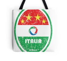 World Cup Football 2/8 - Italia (Distressed) Tote Bag