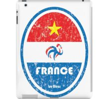 World Cup Football 7/8 - France (Distressed) iPad Case/Skin