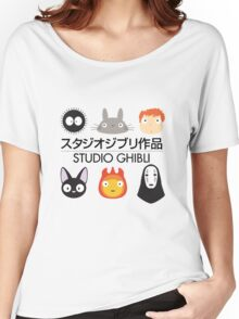 Studio Ghibli Chibi's Women's Relaxed Fit T-Shirt