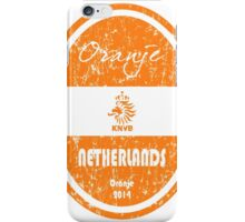 World Cup Football - Netherlands (Distressed) iPhone Case/Skin