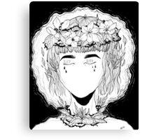 Sleep // Death  Canvas Print