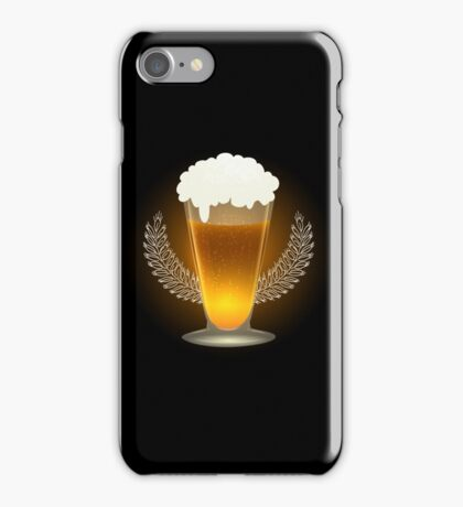 Premium Beer Emblem iPhone Case/Skin