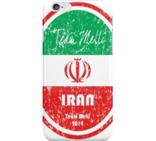 World Cup Football - Iran iPhone Case/Skin