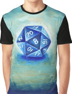 D20 Die / Dice Graphic T-Shirt