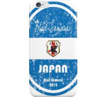 World Cup Football - Japan (distressed) iPhone Case/Skin
