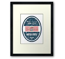 World Cup Football - United States Framed Print